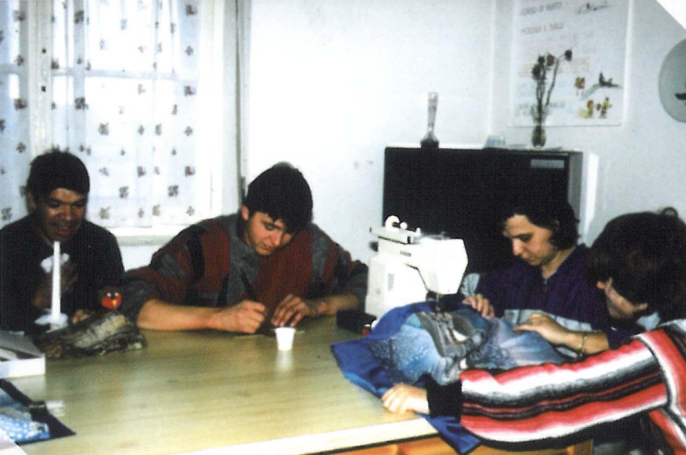 laboratorio di assemblaggio